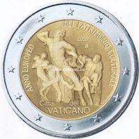 Ватикан 2 евро 2018 Европейский год культурного наследия.
