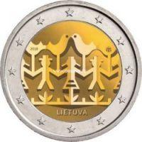 Литва 2 евро 2018 года Праздник песни.