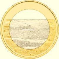 Финляндия 5 евро 2018 Палластунтури.