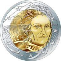Франция 2 евро 2018 года Симона Вейль.