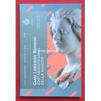 Сан-Марино 2 евро 2018 года 420 лет со дня рождения Джованни Лоренцо Бернини.