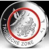 Германия 5 евро 2017 года Тропическая зона