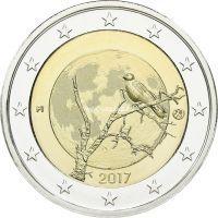 Финляндия 2 евро 2017 года Природа Финляндии