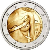 Франция 2 евро 2017 года Борьба против рака молочной железы