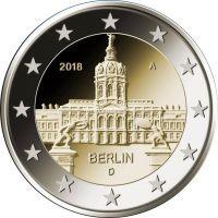 Германия 2 евро 2018 года Берлин