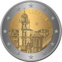 Литва 2 евро 2017 года Вильнюс