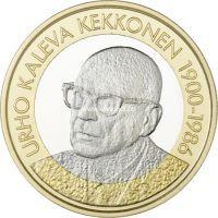 Финляндия 5 евро 2017 года Урхо Калева Кекконен