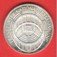 Германия (ФРГ) 5 марок 1973 года Национальное собрание. Серебро
