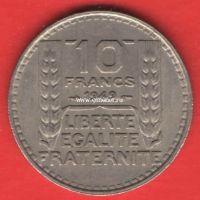 Франция 10 франков 1949 года.