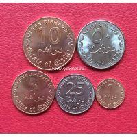 Катар набор 5 монет 2016 года