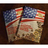 Альбом капсульный для монет 1 доллар США серии Американские инновации.