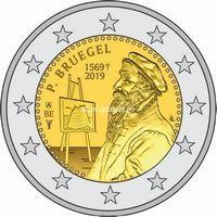 Бельгия 2 евро 2019 года Питер Брейгель