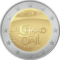 Ирландия 2 евро 2019 года Дойл Эрен.