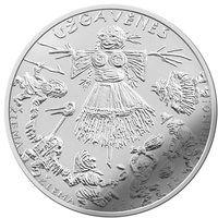 Литва 1,5 евро 2019 года Масленица.