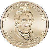 США 1 доллар 2009 года 9 президент Уильям Генри Гаррисон
