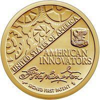 США 1 доллар 2018 года Американские инновации. (P - Филадельфия)