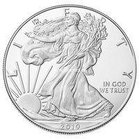 США 1 доллар 2019 Шагающая Свобода (серебро)