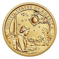 США 1 доллар 2019 года Космическая программа.