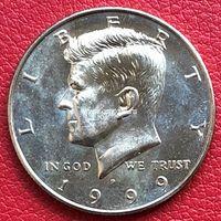 США 50 центов 1999 года Кеннеди Half Dollar P - Филадельфия