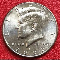 США 50 центов 2002 года Кеннеди Half Dollar D - Денвер