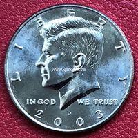 США 50 центов 2003 года Кеннеди Half Dollar D - Денвер