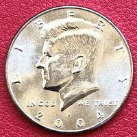 США 50 центов 2004 года Кеннеди Half Dollar P - Филадельфия