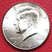 США 50 центов 2009 года Кеннеди Half Dollar P - Филадельфия