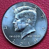 США 50 центов 2010 года Кеннеди Half Dollar D - Денвер