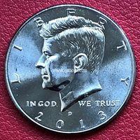 США 50 центов 2013 года Кеннеди Half Dollar D - Денвер