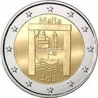 Мальта 2 евро 2018 Культурное наследие.
