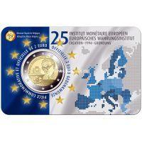 Бельгия 2 евро 2019 Европейский валютный институт.