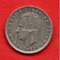 Испания монета 25 песет 1983 года.