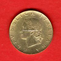 Италия монета 20 лир 1980 года.
