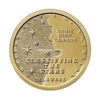США 1 доллар 2019 года Астроном Энни Джамп Кэннон. (D - Денвер)
