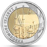 Польша 5 злотых 2019 года Памятник Фромборк.