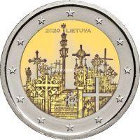 Литва 2 евро 2020 Гора Крестов