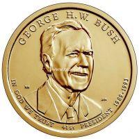 США 1 доллар 2020 года Джорж Буш