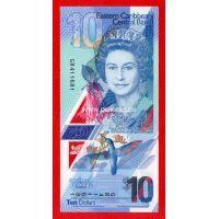 Восточные Карибы банкнота 10 долларов 2019 года