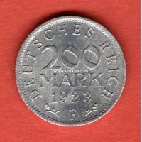 Германия 200 марок 1923 года.
