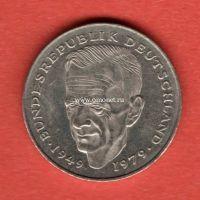 Германия 2 марки 1979 года Курт Шумахер.
