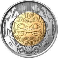 Канада 2 доллара 2020 года Билл Рид.