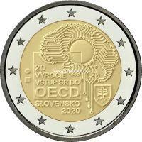 Словакия 2 евро 2020 Вступление в ОЭСР