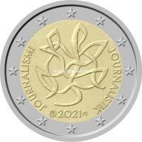 Финляндия 2 евро 2021 года Журналистика