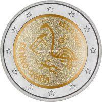 Эстония 2 евро 2021 Финно-угорские народы