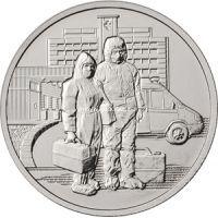 25 рублей 2020 года Работники медицины.