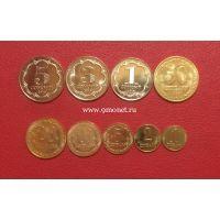 Таджикистан набор монет 2019 года