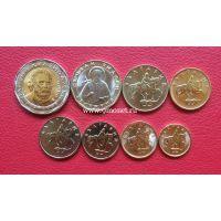 Болгария набор 8 монет 1999-2015 год.