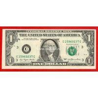 США банкнота 1 доллар 1977 (С-Филадельфия)