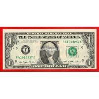 США банкнота 1 доллар 1977 (F-Атланта)