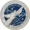 25 рублей 2021 года 60 лет Первого полета человека в космос (цветная)